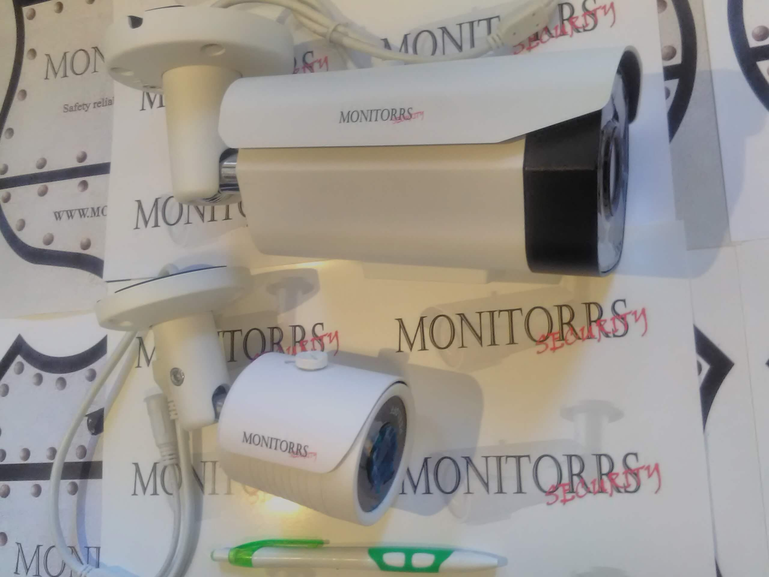 Monitorrs Security IP Park 6 kamerový set 5 Mpix (6185K6)