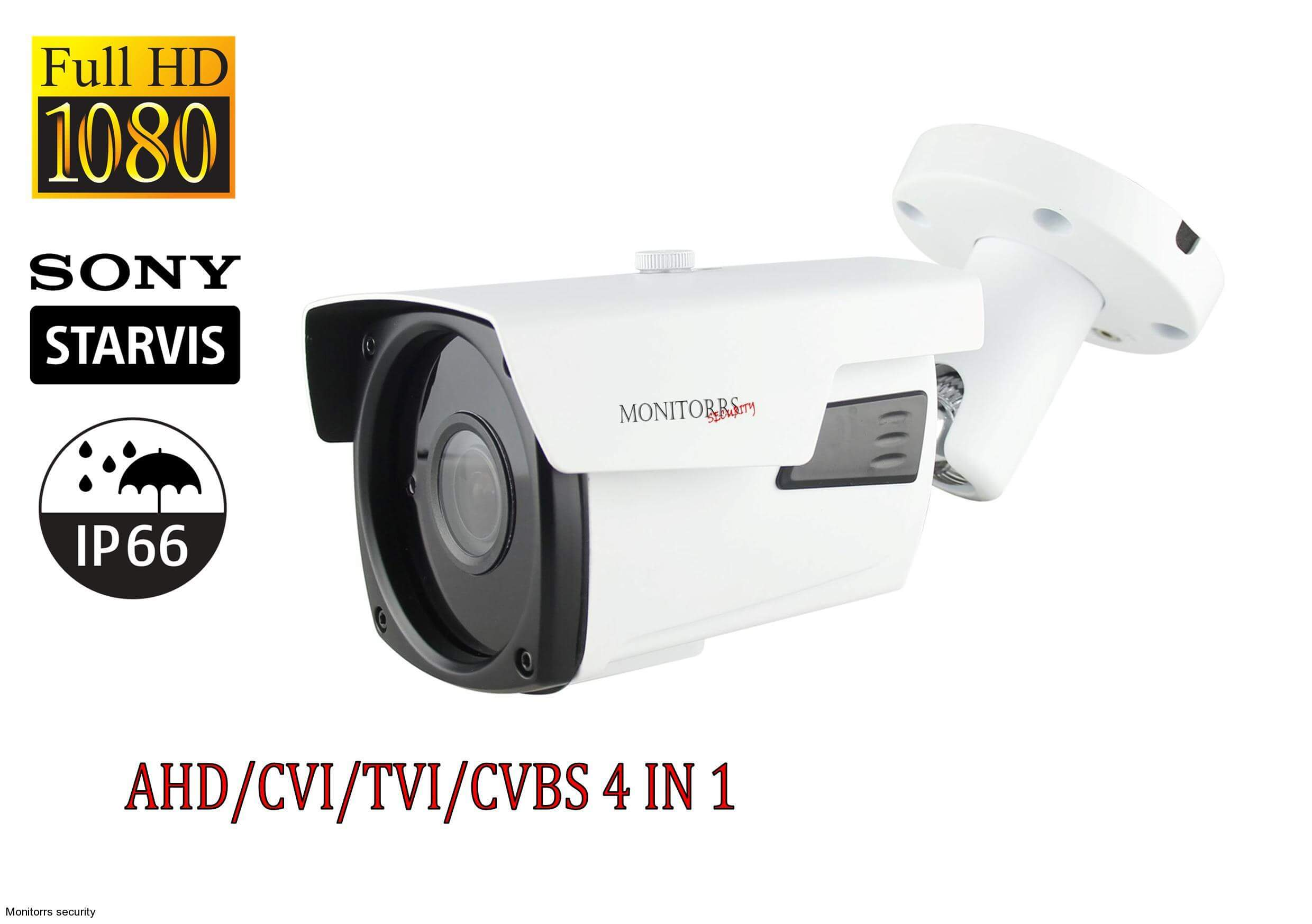 Monitorrs Security 2 MPix Kamera (AHD/TVI/CVI/CVBS) (6278)