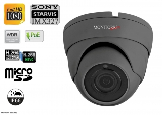 Monitorrs Security Starvis IP kamera 2 MPix GDome (6171)