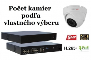 Monitorrs Security IP kamerový set  2 Mpix WDome (6001K8+)