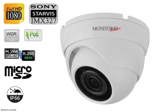 Monitorrs Security Starvis IP kamera 2 MPix WDome (6280)